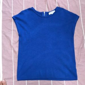 Royal blue philosophy top very chic